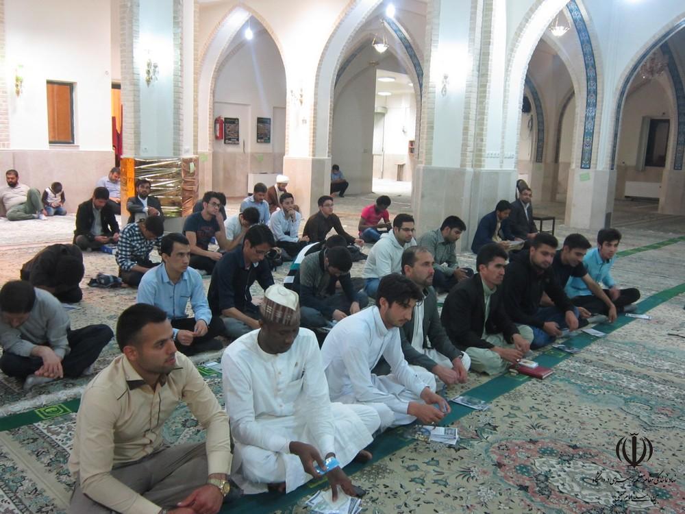گزارش تصویری از برگزاری احیاء نیمه شعبان