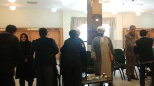 حضور مسئول دفتر نهاد رهبری در دیدار نوروزی ریاست نهاد با کارمندان